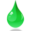 Drop icon 64 green