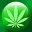 Cannabis Button icon 64