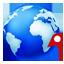 Globe icon 64