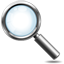 Magnifying glass icon 64