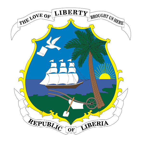 Coat of Arms Liberia 591 x