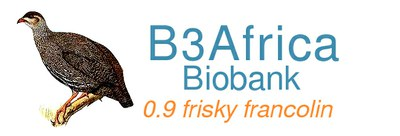 Bika Biobank proto-type Frisky Francoline logo