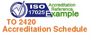 Dummy ISO 17025 Schedule of Accreditation logo 220 x