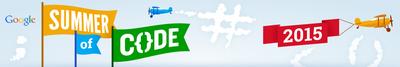 Google Summer of Code 2015 Banner