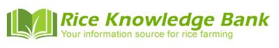 IRRI Rice knowledge bank logo
