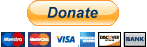 Paypal and Credit card donation button