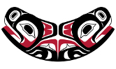 Northwest Coast Indian symbol of physical and mental well-being