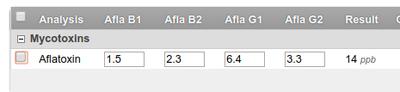 Calculation with Interim fields on Analysis Request in in Bika / Senaite Open Source LIMS
