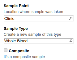 AR Template Sample Point and Type configuration in Bika and Senaite
