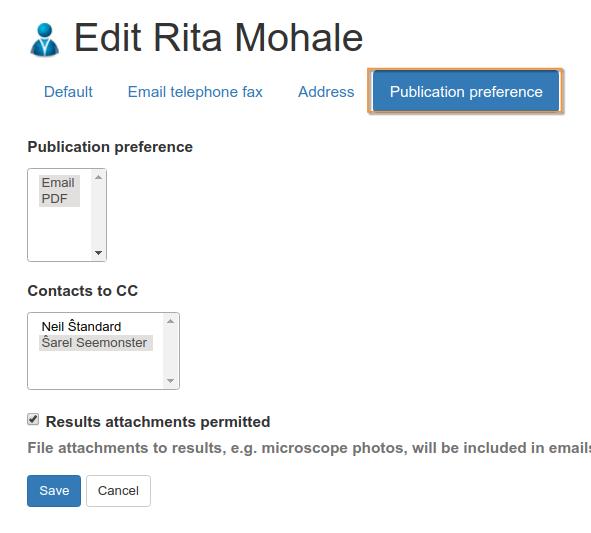 Client Contact Preferences in Bika Senaite Open Source LIMS