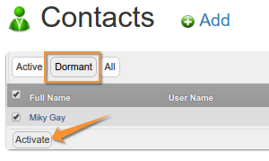 Reactivating Client Contacts in Bika | Senaite Open Source LIMS