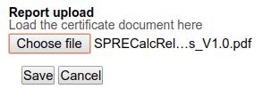 Upload Instrument Calibration Certificate. Bika | Senaite