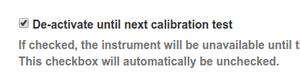 Instrument QC step in Bika Senaite configuration