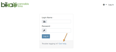 Get help with password retrieval in Bika Open Source LIMS