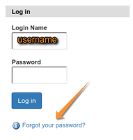 Request a password. Bika | Senaite Open Source LIMS