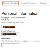 Personal information in Bika Senaite Open Source LIMS