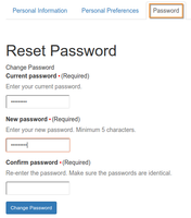 Reset Password in Bika Senaite Open Source LIMS