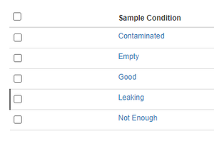Dormant vs Active setup Items in Bika Open Source LIMS lists