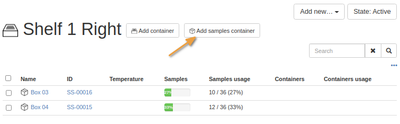 Add a Sample Container in Bika Open Source LIMS