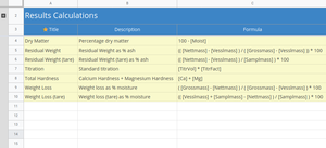 Calculations import sheet to Bika Open Source LIMS
