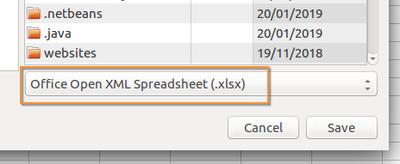 Save Bika Open Source LIMS configuration sheets as ODF XLSX