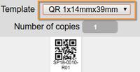 QR Sample Sticker. Bika | Senaite